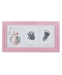 Passion Petals Baby Keepsake Rectangular Photo Frame - Pink