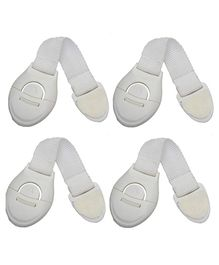 Syga Infant Safety Lock White - Pack of 4