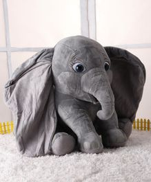 Disney Dumbo Plush Toy With Music Grey - 30 cm