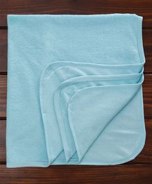 Ohms Baby Blanket Solid - Blue