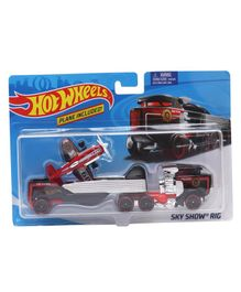 Hot Wheels Sky Show Vehicle Car - Red & Black