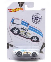 Hot Wheels Shelby Cobra Daytona - White