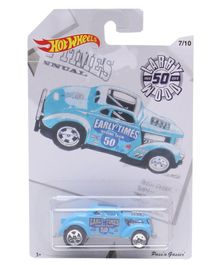 Hot Wheels Early Times 50 Passn Gasser - Blue