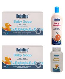 Babuline Baby Bath Care Combo - Pack of 2