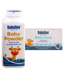 Babuline Baby Powder & Baby Soap Combo Set - Pack of 2