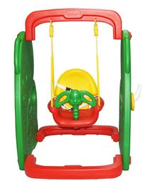 Playgro Swing Elephant Print Multicolor - (Color May Vary)
