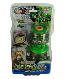 Infinity Nado Cyan Spout Spinning Toy - Green