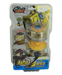 Infinity Nado Aspis Spinning Toy - Yellow