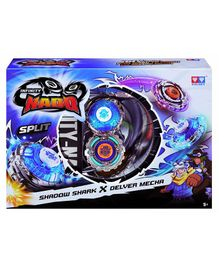 Infinity Nado Shadow Shark Delver Mecha Spinning Toy - Multicolor