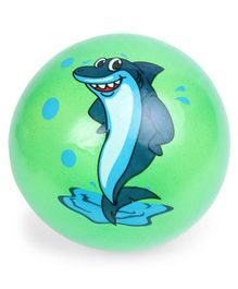 Kids Ball Whale Print - Green (Print May Vary)