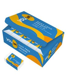 Youva Medium Size Dust Free Erasers Yellow - Pack of 20