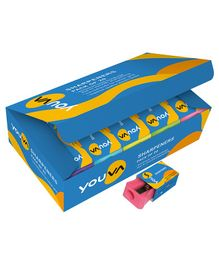 Youva Sharpeners Multicolor - Pack of 20