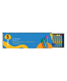 Youva Oil Pastels Multicolour - Pack of 25