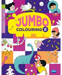 My Jumbo Colouring Book 2 - English