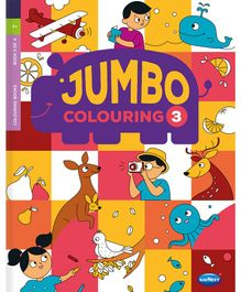My Jumbo Colouring Book 3 - English