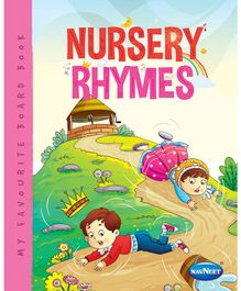 My Favourite Board Book Nursery Rhymes - English