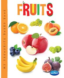 My Favourite Board Book Fruits - English