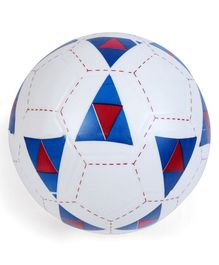 Football-  White Blue