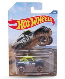 Hot Custom Ford Bronco Toy - Green & Black