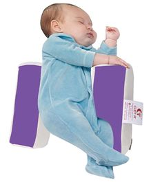 Get IT Rectangle Anti Roll Pillow - Purple