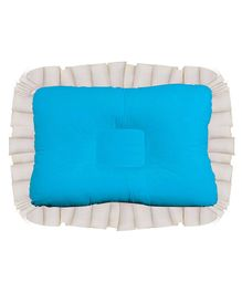Get It Baby Head Shaping Recron Pillow - Blue