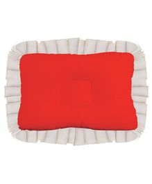 Get It Baby Head Shaping Recron Pillow - Red