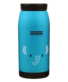 Syga Stainless Steel Creative Cartoon Thermos Flask Blue - 360 ml