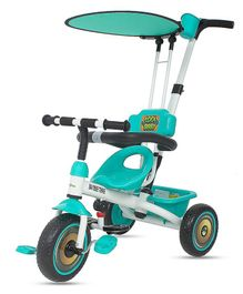 Baybee Kids Cycle Smart Plug Tricycle for Kids - Green