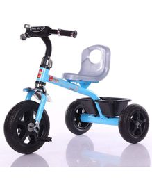 Baybee Erangel Plug & Play Kids Tricycle Trike With Storage Basket - Blue