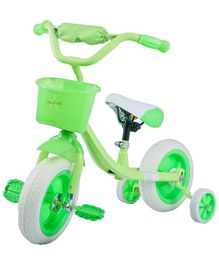 Baybee Breezy Tribicycle With Trainer Wheels - Green