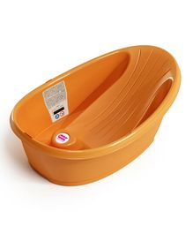 Ok Baby Onda Baby Bath Tub With Inbuilt Bather - Orange