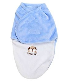 Bembika Organic Cotton Swaddle Wrapper - Blue