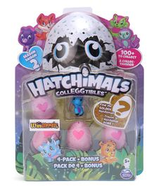 Hatchimals Collectables Horse Pack of 4 - Pink
