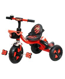 Luusa Rx 250 Tricycle With Seat Belt and Sipper - Red