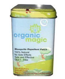 Organic Magic Mosquito Repellent Patch - Pack Of 25