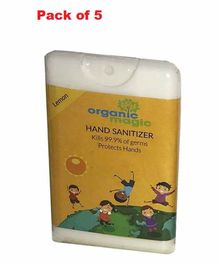 Organic Magic Pocket Hand Sanitizer Lemon Flavour - 18 ml
