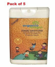 Organic Magic Pocket Hand Sanitizer Orange - 18 ml