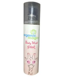 Organic Magic Body Mist Pink - 135 ml