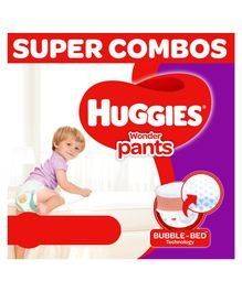 Huggies Wonder Pants Diapers Extra Large Size Combo Pack of 2 -  38 Pieces Each