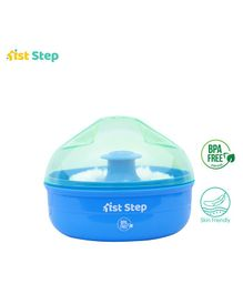 1st Step Powder Box With Puff - Blue