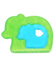 1st Step Free Bear Shaped Water Filled Teether Pack Of 2 - Green & Blue