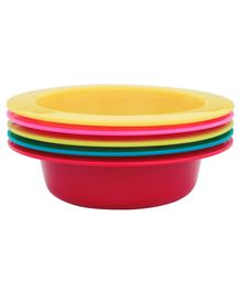 1st Step Feeding Bowls Pack Of 5 - Multicolour
