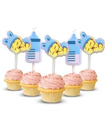 Amfin Baby Shower Candle Blue - Pack of 5