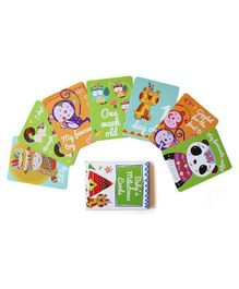 Shumee Baby's Precious Milestones Cards Green - Pack of 30