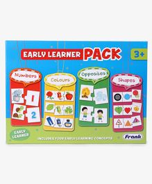 Frank Early Learner Pack Jigsaw Puzzle Multicolour - 88 Pieces