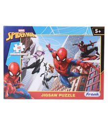 Frank Marvel Spider Man Jigsaw Puzzle Multicolour - 60 Pieces