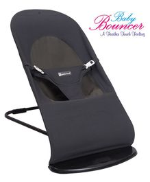 Mothertouch Baby Bouncer With Safety Harness - Grey