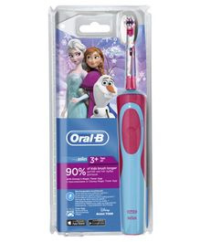 Oral-B Kids Electric Rechargeable Frozen Toothbrush - Pink & Blue