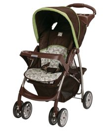 Graco Literider Click Connect Stroller Zuba - Brown