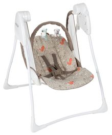 Graco Baby Delight Portable Swing With Toy Bar - Brown